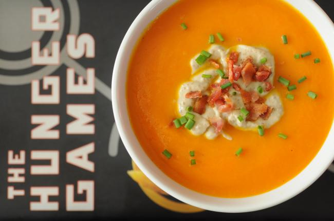 Katniss' Carrot Soup